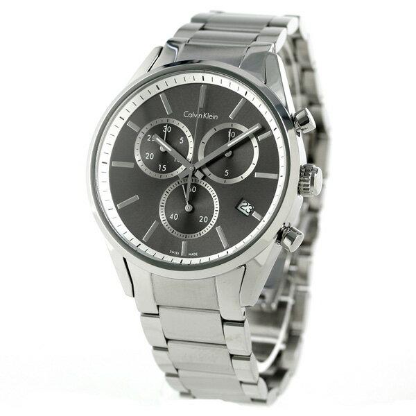 カルバンクライン フォーマリティ クロノグラフ スイス製 K4M27143 CALVIN KLEIN 腕時計 時計【あす楽対応】