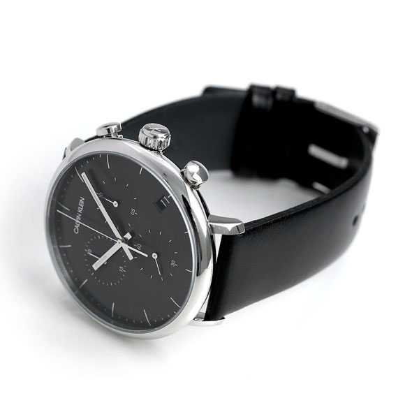 カルバンクライン 時計 メンズ クロノグラフ スイス製 K8M271C1 CALVIN KLEIN 腕時計 ハイヌーン 43mm【あす楽対応】
