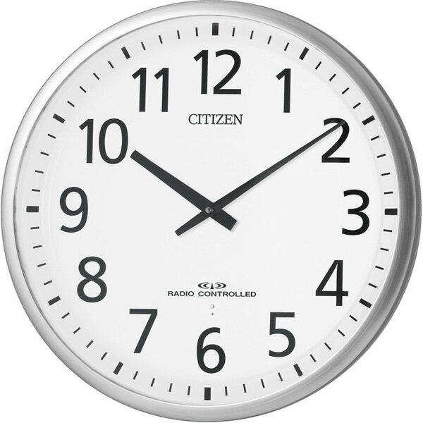 シチズン 掛時計 電波 スリーウェイブM821 シルバー 4MY821-019:腕時計のななぷれ
