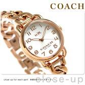 コーチ デランシー クオーツ レディース 腕時計 14502255 シルバー×ピンクゴールド 【あす楽対応】