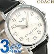 コーチ デランシー クオーツ メンズ 腕時計 14502267 COACH アイボリー×ブラック