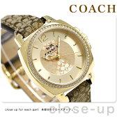コーチ ボーイフレンド ミニ クオーツ レディース 腕時計 14502509 COACH ゴールド【あす楽対応】