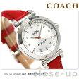 コーチ 1941 スポーツ クオーツ レディース 腕時計 14502537 シルバー×レッド