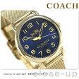 コーチ デランシー 36mm クオーツ メンズ 腕時計 14502665 COACH ゴールド
