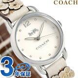 コーチ 時計 レディース COACH 腕時計 デランシー 28mm 花柄 14502760 革ベルト