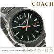 コーチ ブリーカー 42mm クオーツ メンズ 腕時計 14602002 COACH オールブラック