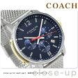 コーチ ブリーカー 42mm クロノグラフ メンズ 腕時計 14602022 COACH ブラック