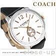 コーチ ブリーカー 46mm クオーツ メンズ 腕時計 14602081 COACH ブラック
