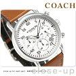 コーチ デランシー 42mm クロノグラフ クオーツ メンズ 腕時計 14602104 COACH ブラウン