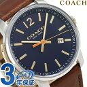 コーチ 時計 メンズ COACH 腕時計 ブリーカー 42mm クオー...