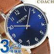 コーチ スリム イーストン 40mm クオーツ メンズ 腕時計 14602127 COACH ブルー