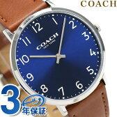 コーチ スリム イーストン 40mm クオーツ メンズ 腕時計 14602127 COACH ブルー【あす楽対応】
