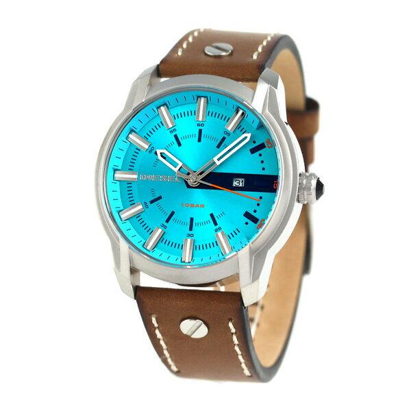 【7月末入荷予定 予約受付中♪】ディーゼル 時計 メンズ DIESEL 腕時計 DZ1815 アームバー 44mm ブルー × ブラウン