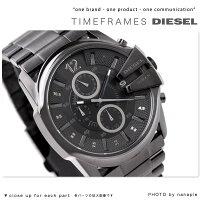 ディーゼル時計DIESELメンズ腕時計クロノグラフメタルオールブラックDZ4180