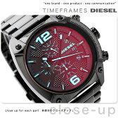 DZ4316 ディーゼル オーバーフロー クロノグラフ クオーツ DIESEL メンズ 腕時計 ブラック【あす楽対応】