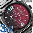 DZ4316 ディーゼル オーバーフロー クロノグラフ クオーツ DIESEL メンズ 腕時計 ブラック
