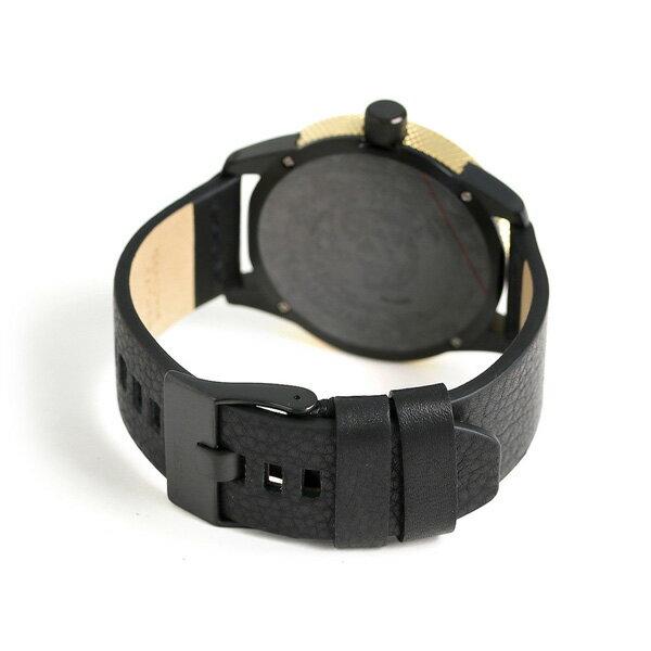 ディーゼル 時計 メンズ ブレスレット付き DIESEL 腕時計 DZ1840 ラスプ 47mm 革ベルト