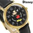 ディズニー ミッキーマウス 34mm クオーツ M34-BK-BK ユニセックス 腕時計 Disney