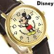ディズニー ミッキーマウス 34mm クオーツ M34-GD-DBR ユニセックス 腕時計 Disney
