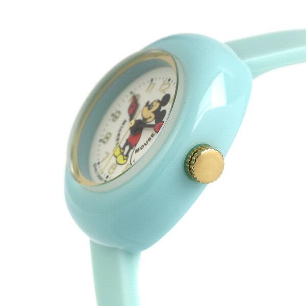 店内ポイント最大43倍!16日1時59分まで! ディズニー ミッキーマウス 30mm レディース 腕時計 MPW-MNT Disney Watch ミント