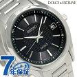 セイコー ドルチェ 電波ソーラー メンズ 腕時計 SADZ187 SEIKO DOLCE ブラック