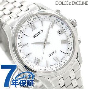 【今ならポイント最大31倍】 セイコー ドルチェ メンズ 腕時計 チタン 日本製 電波ソーラー SADZ201 SEIKO DOLCE&EXCELINE 時計【あす楽対応】