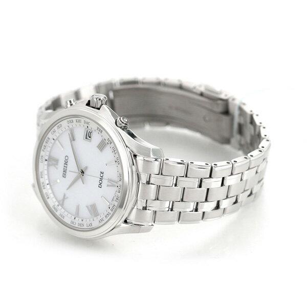 25日当店なら!ポイント最大35倍 セイコー ドルチェ メンズ 腕時計 チタン 日本製 電波ソーラー SADZ201 SEIKO DOLCE&EXCELINE 時計