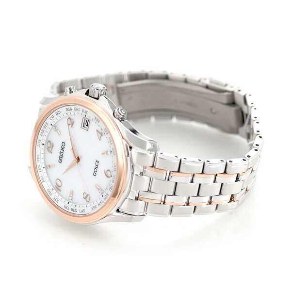 【25日なら全品5倍以上!店内ポイント最大37倍】 セイコー いい夫婦の日 限定モデル 電波ソーラー メンズ SADZ204 SEIKO ドルチェ&エクセリーヌ 腕時計 時計【あす楽対応】