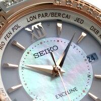 セイコーエクセリーヌプレステージライン電波ソーラーSWCW112SEIKODOLCE&EXCELINE腕時計【対応】