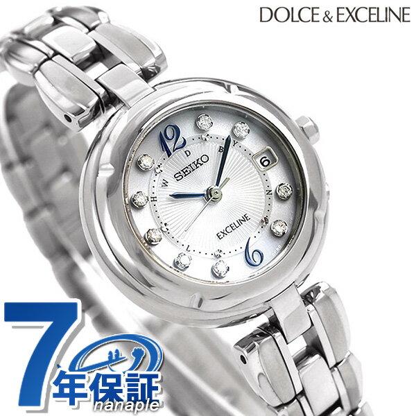 セイコー ドルチェ&エクセリーヌ 日本製 電波ソーラー SWCW121 SEIKO 腕時計 シルバー:腕時計のななぷれ