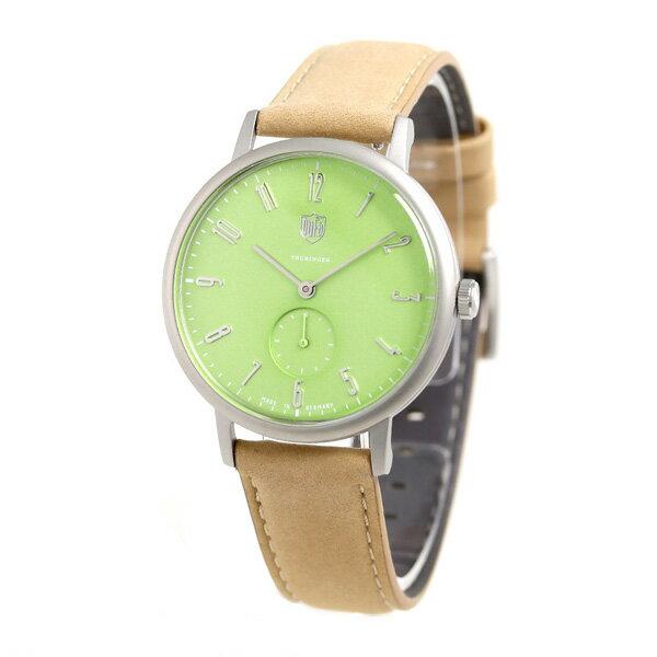 DUFA ドゥッファ ヴォルター グロピウス 32mm 限定モデル レディース 腕時計 DF-7001-0V ライトグリーン 時計【あす楽対応】