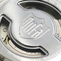 DUFAドゥッファマルセルブロイヤー42mmドイツ製自動巻きDF-9010-02腕時計グレー