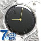 DUFA ドゥッファ ヴォルター グロピウス 38mm メンズ 腕時計 DF-9020-11 ブラック 時計【あす楽対応】
