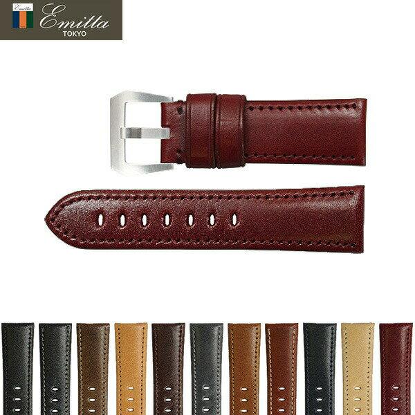 腕時計用アクセサリー, 腕時計用ベルト・バンド 55433 24mm Emitta