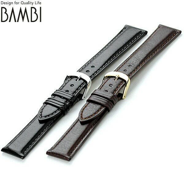 交換用ベルト 腕時計 カーフレザー バンビ 選べるモデル BE011