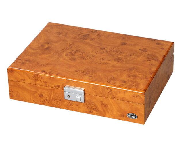腕時計ケース 8本収納 コレクションボックス 木製 鍵付き LU51010RW 時計