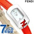 フェンディ カメレオン クオーツ レディース 腕時計 F300024574D1 FENDI ホワイトシェル×レッド