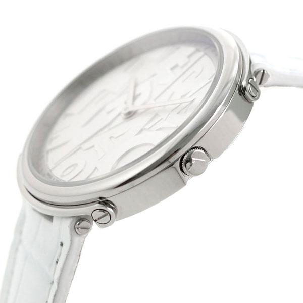フェラガモ 時計 ロゴマニア レディース 腕時計 FFY010017 Ferragamo シルバー×ホワイト【あす楽対応】