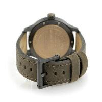 フィルソンマッキーノフィールド43mmメンズ腕時計20001946FILSONブラック×カーキ