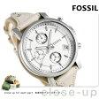 フォッシル オリジナル ボーイフレンド レディース 腕時計 ES3811 ホワイト×ベージュ【あす楽対応】