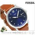フォッシル ザ コミューター 42mm クオーツ メンズ FS5325 FOSSIL 腕時計 ネイビー【あす楽対応】