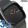 フォッシル ラザフォード クオーツ メンズ 腕時計 FS5333 FOSSIL オールブラック