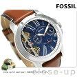 フォッシル グラント ツイスト 46mm オープンハート メンズ ME1161 FOSSIL 腕時計 ブルー【あす楽対応】