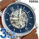 フォッシル 腕時計 メンズ 自動巻き 革ベルト ME3159 FOSS...
