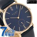 フルボ デザイン F01 クオーツ 革ベルト メンズ 腕時計 F01-...