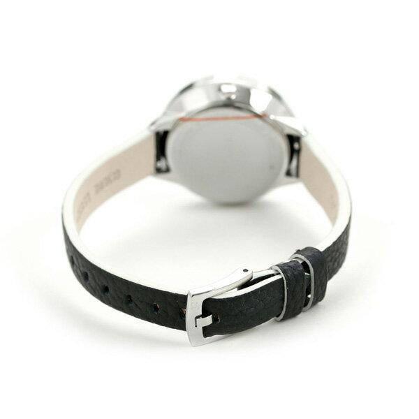 【ショッパー付き♪】フルラ 時計 クラブ 34mm レディース 腕時計 4251109504 FURLA シルバー×ブラック 革ベルト【あす楽対応】