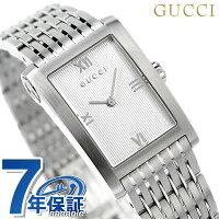 グッチGメトロレディーススイス製腕時計YA086405GUCCIシルバー