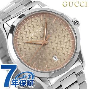 【15日は全品5倍でポイント最大22倍】 グッチ 時計 メンズ GUCCI 腕時計 Gタイムレス 40mm YA1264053 ブラウン【あす楽対応】