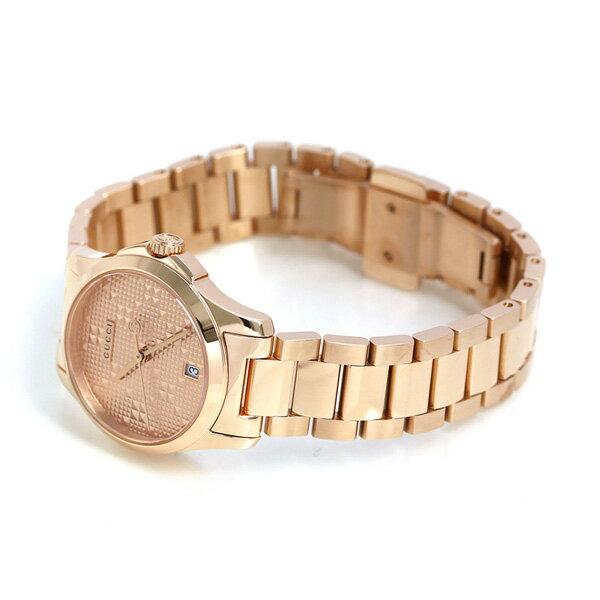 グッチ 時計 レディース GUCCI 腕時計 Gタイムレス 27mm YA126567 ピンクゴールド