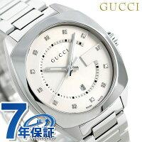 グッチ 時計 レディース GUCCI 腕時計 GG2570 コレクション 37mm シルバー YA142403【あす楽対応】